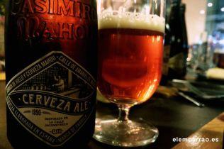 Cerveza Ale de Casimiro Mahou